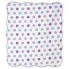 CoCaLo Violet Coverlet - Jumbo Dot/Dottie - Lavender