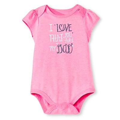 Circo™ Baby Girls' Bodysuit - Dazzle Pink 0-3 M