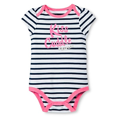 Circo™ Baby Girls' Bodysuit - Navy 6-9 M
