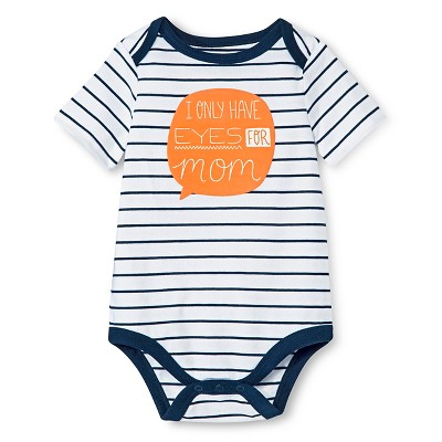 Circo™ Baby Boys' Lap Shoulder Mom Bodysuit - Deep Navy 0-3 M