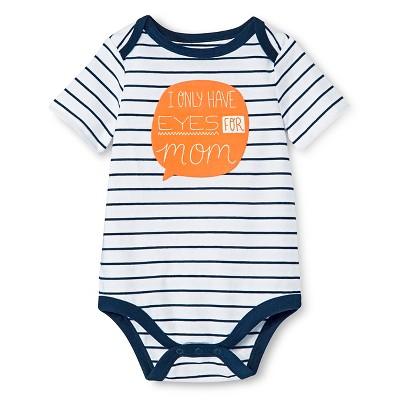 Circo™ Baby Boys' Lap Shoulder Mom Bodysuit - Deep Navy 18 M