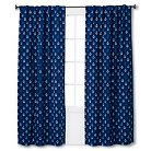 Anchor Print Twill Light Blocking Curtain Panel - Pillowfort™