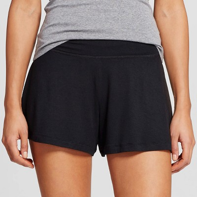 Women's Post Maternity Fluid Knit Sleep Short Black XL - Gilligan & O'Malley™