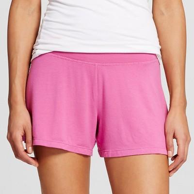 Women's Post Maternity Fluid Knit Sleep Short Pink L - Gilligan & O'Malley™