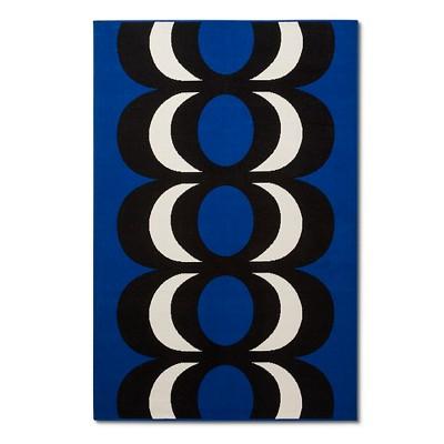 Marimekko for Target Outdoor Rug 5'x7' - Kaivo Print - Blue