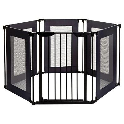Dreambaby® Brooklyn Converta® 3-in1 Easy Close Playpen with Mesh Panels & Smart Stay-Open Feature