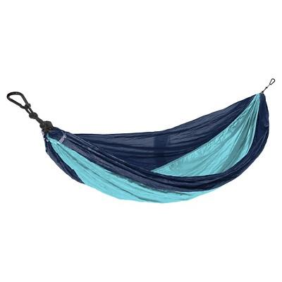 Eco Trekker Parachute Hammock - Blue & Turquoise