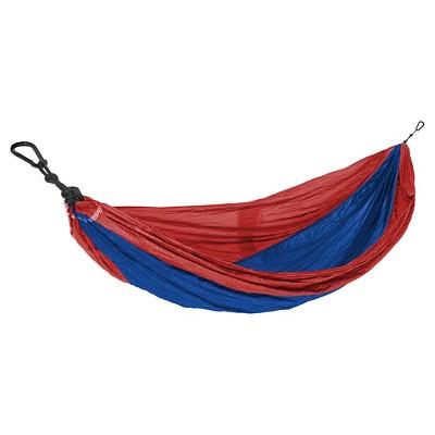 Eco Trekker Parachute Hammock - Red & Blue