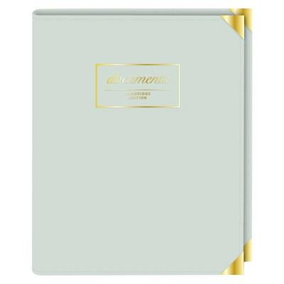 "Cambridge® Padfolio, 9.25"" x 7.5"" - Gold Corners"