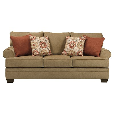 Sevan Queen Sofa Sleeper - Sand - Signature Design by Ashley