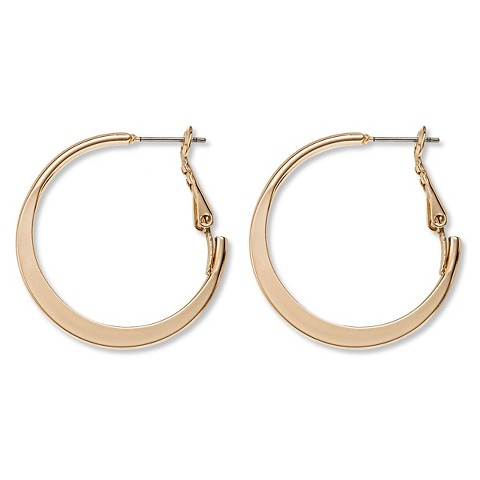 Perfect Dipped Enamel Hoop Earrings  Women Under $40   J.Crew