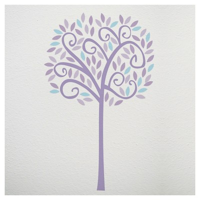 CoCaLo Violet Jumbo Wall Decal Set - Tree