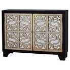 Barnes Accent Cabinet with Wine Storage - Home Meridian