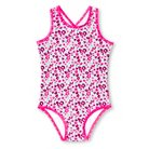 Baby Girls' Floral One-Piece Swimsuit Pink 9M - Circo™