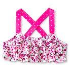Baby Girls' Ruffled Floral Bikini Swim Top Pink 2T - Circo™