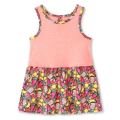 Baby Girls' Fruit Sleeveless Dress Pink 12M - Circo™