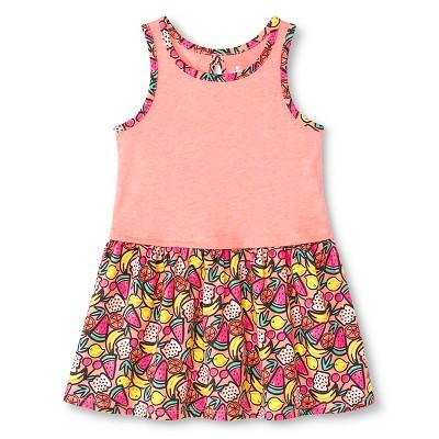 Toddler Girls' Fruit Sleeveless Dress Pink 5T - Circo™