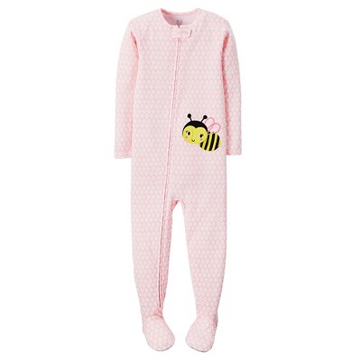 Baby/Toddler Girls' Snug Fit Cotton 1-piece Pajama 9M - Just One You™ Made by Carter's®