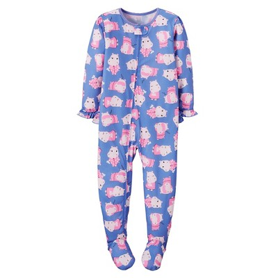 Baby/Toddler Girls' Jersey 1-piece Pajama 9M - Just One You™ Made by Carter's®