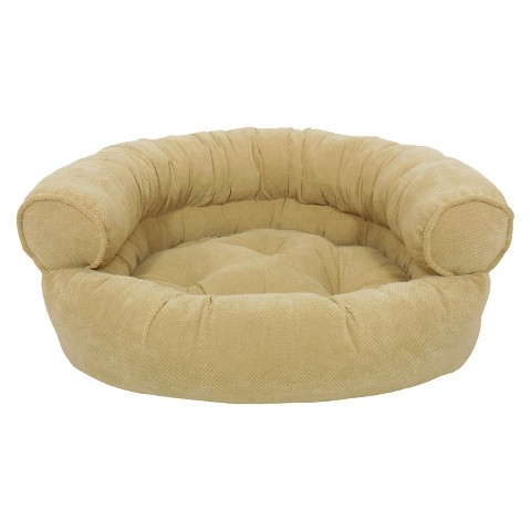 Canine creations orthopedic granby textured soli target Comfy couch dog bed