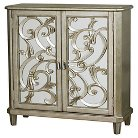 Marksberry Accent Cabinet with Wine Storage - Home Meridian
