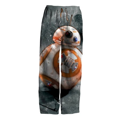 Men's Star Wars BB8 Knit Sleep Pants Multi-Colored S