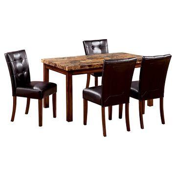 oak kitchen table target