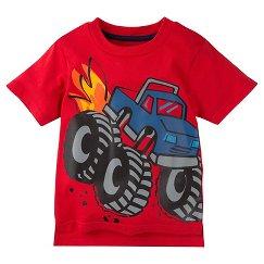 Gerber® Toddler Boys' T-Shirt - Red