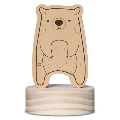 Wooden Bear Night Light - Lolli Living™