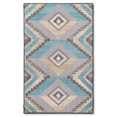"Gia Mei Accent Rug Turquoise 30"" 48"" - Threshold™"