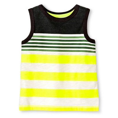 Infant Boys' Stripe Tank Top - Multi colored 9M