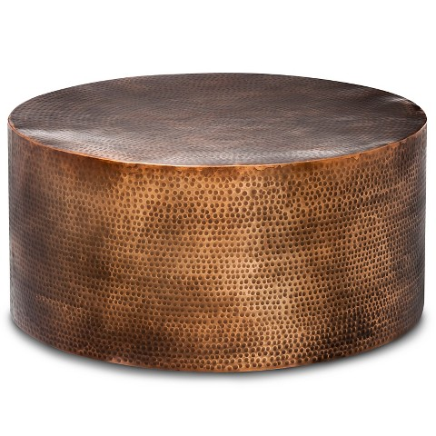 Granby Hammered Barrel Coffee Table Threshold Target