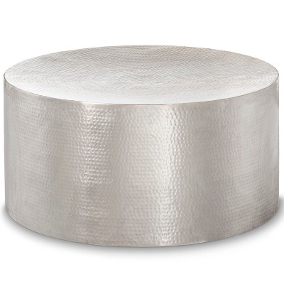 Granby Hammered Barrel Coffee Table Silver - Threshold™