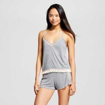 Female Pajama Sets Xhilaration Heather Grey L