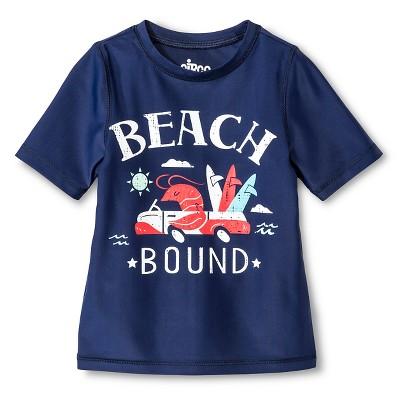 Baby Boys' Swim Rash Guard Nightfall Blue 9M - Circo™