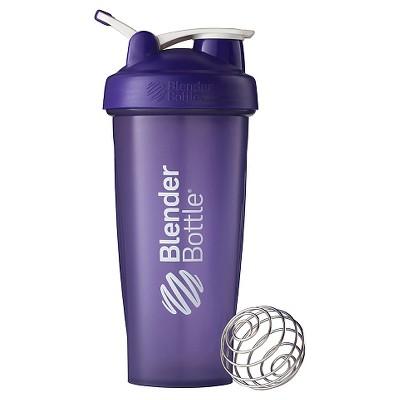 28-oz. BlenderBottle® Classic™ (w/Loop) - Full Color Purple Protein Shaker