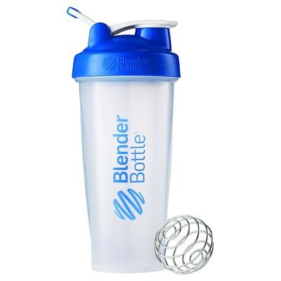 28-oz. BlenderBottle® Classic™ (w/Loop) - Blue Protein Shaker