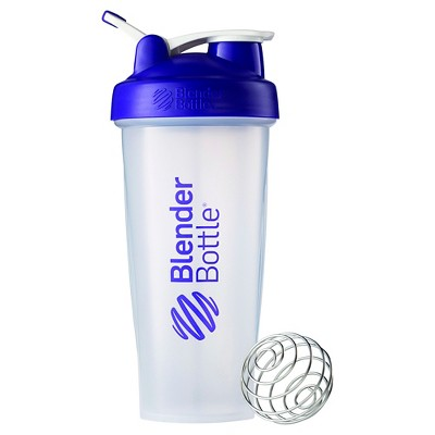 28-oz. BlenderBottle® Classic™ (w/Loop) - Purple Protein Shaker