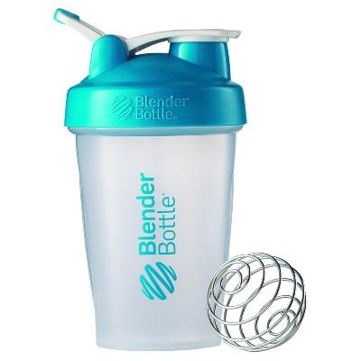 20-oz. BlenderBottle® Classic™ (w/Loop) - Aqua Protein Shaker