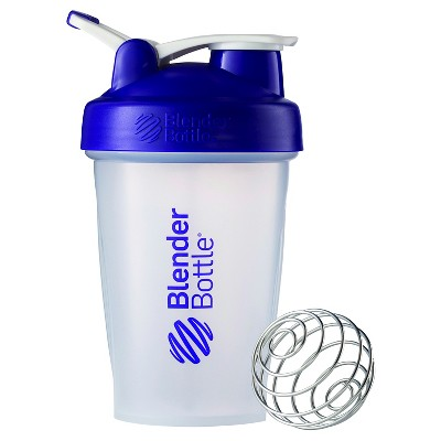 20-oz. BlenderBottle® Classic™ (w/Loop) - Purple Protein Shaker