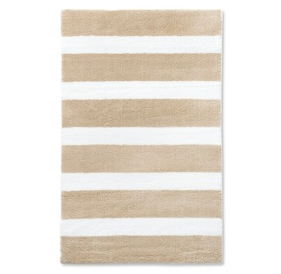 Stripe Area Rug Tan 5'x7' - Pillowfort™