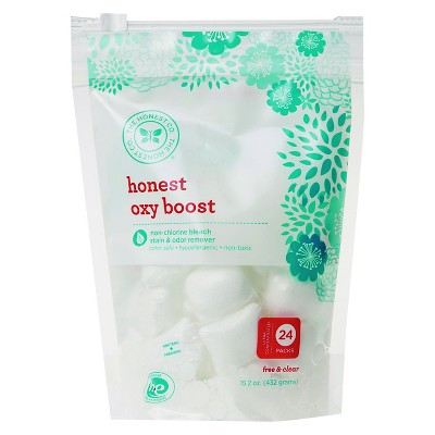 Honest Company Laundry Detergent Boosters