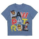 Toddler Boys' Paw Patrol Tee Shirt - Heather Blue 3T
