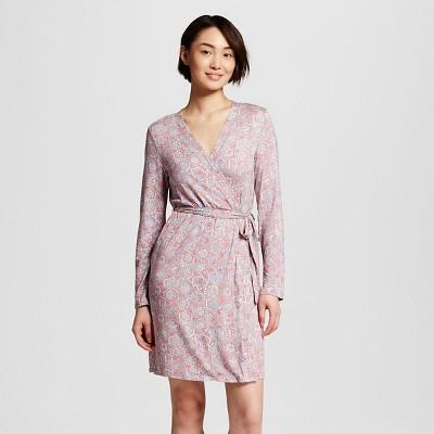 Women's Fluid Knit Wrap Gray Print XS/S - Gilligan & O'Malley™