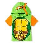 Toddler Boys' Teenage Mutant Ninja Turtle Hooded Tee - Green 5T