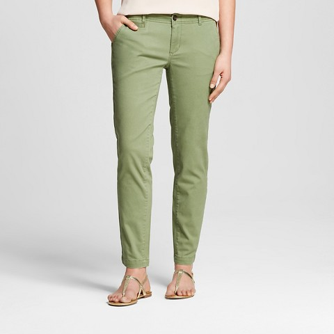 Cool Uniqlo Women Idlf Vintage Chino Pants In Green OLIVE  Lyst