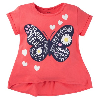 Gerber® Toddler Girls' T-Shirt - Pink 24 M
