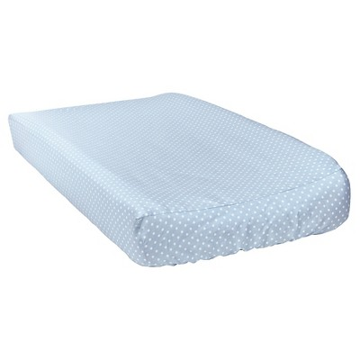 Trend Lab Blue Taffy Changing Pad Cover - Mini Dot