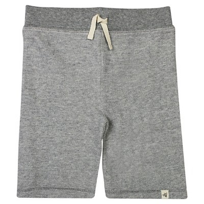 Burt's Bees Baby™ Baby Boys' Loose Pique Short - Heather Grey 6-9 M
