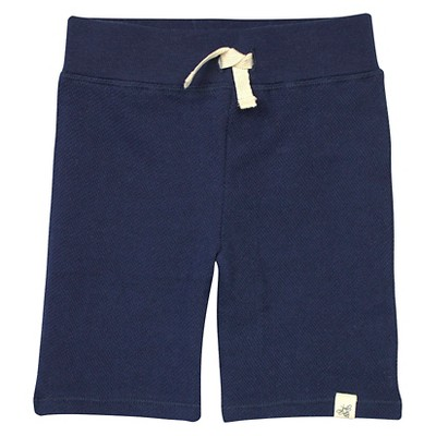 Burt's Bees Baby™ Baby Boys' Loose Pique Short - Midnight 6-9 M